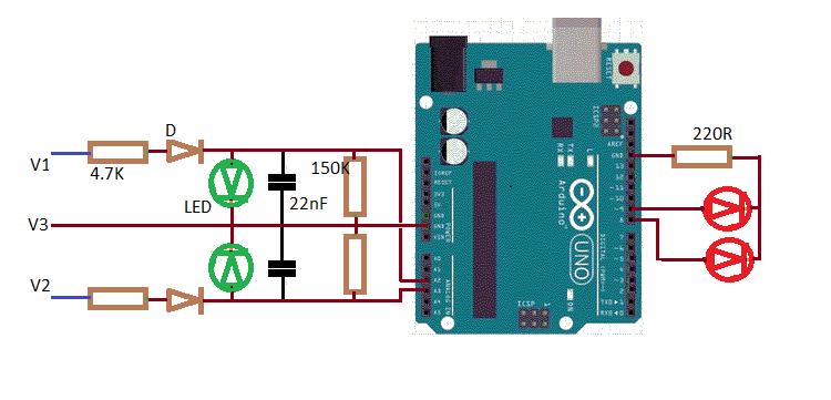 Arduino 3 phases triangle checker ciacza69rr