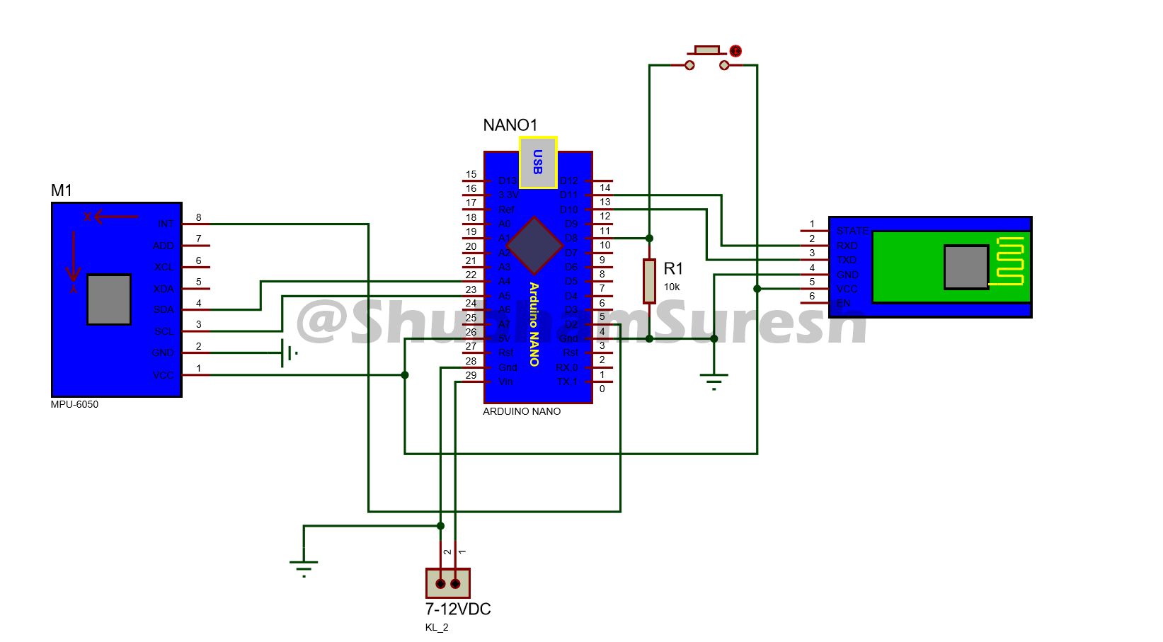 How to Make a Gesture Control Robot at Home - Arduino ... Cw Thumb Schematic Diagram Control on exhaust fan control diagram, documentation control diagram, source code control diagram, relay control diagram, control loop block diagram, audio control diagram, electrical control diagram, logic control diagram, design control diagram, span of control diagram, project control diagram, mechanical control diagram, cnc machine control diagram,