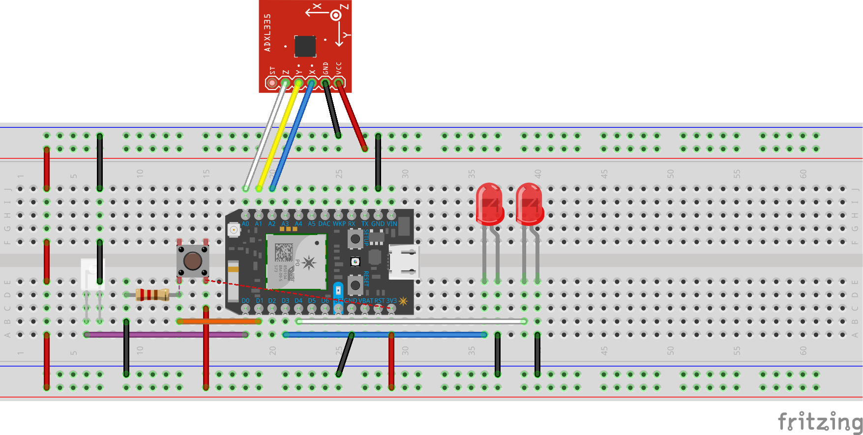 Remotecontrolwithaccelerometer particle bb