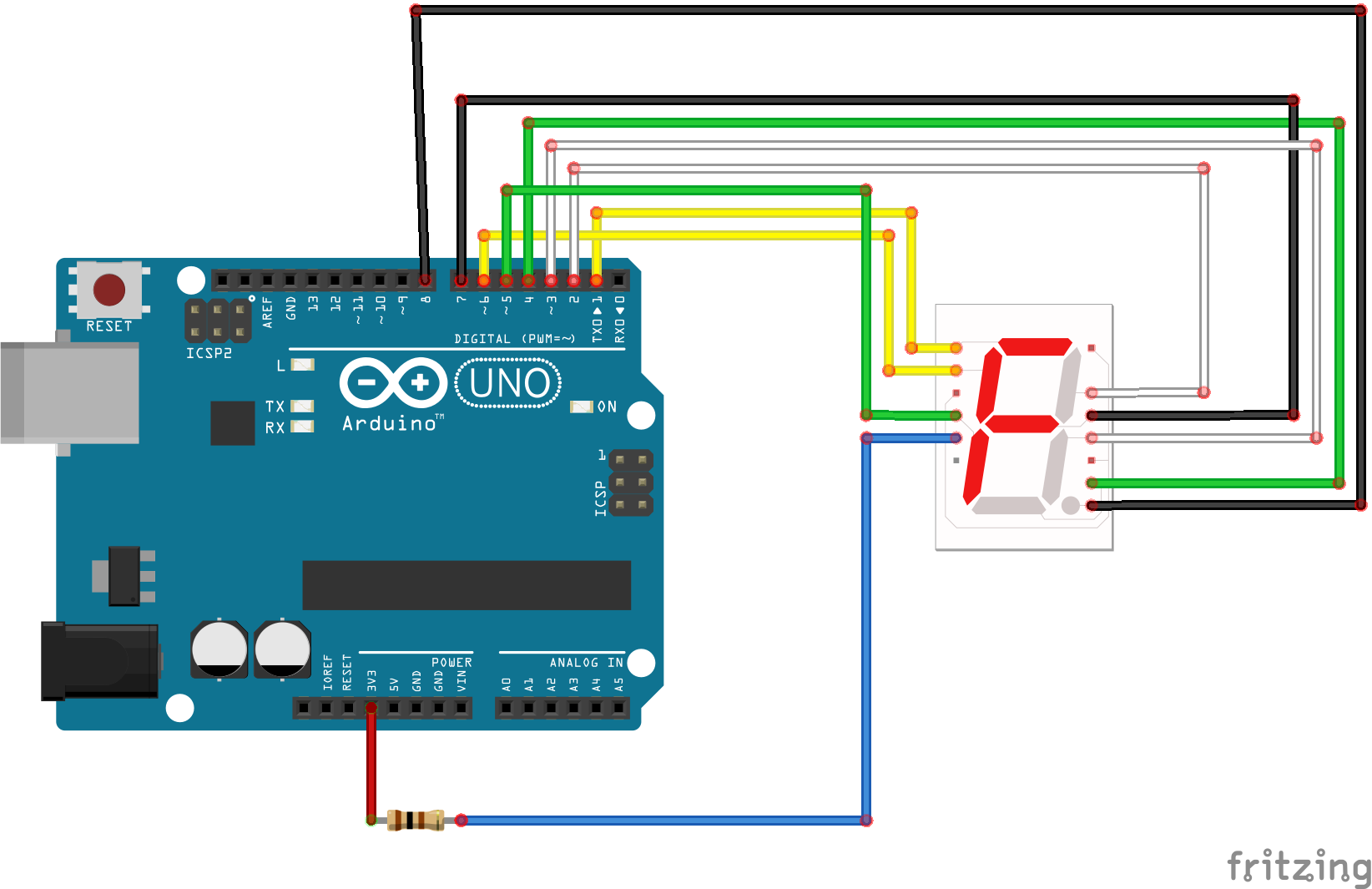 Snap Circuits U00ae - Seven Segment Display