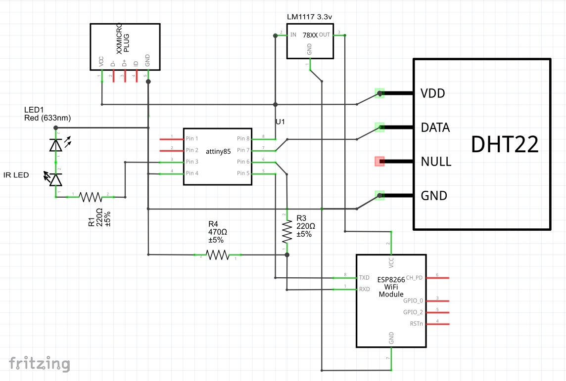 IR Controller for Air Conditioner - Arduino Project Hub on